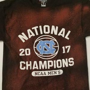 UNC Tar Heels Bleached T - Shirt